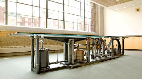 electrical conduit pipe desk 2