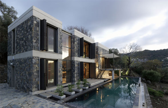House O A Modern Castle By 42concepts