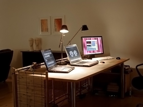 Awesome My Improved Home Office By Baekdal Blog Largest Home Design Picture Inspirations Pitcheantrous