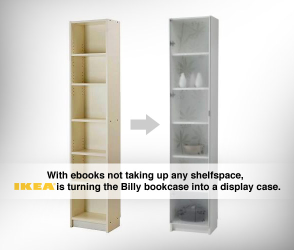 Ikea Libreria Billy Ante.How Ebooks Change Our Lives And Homes Baekdal Plus