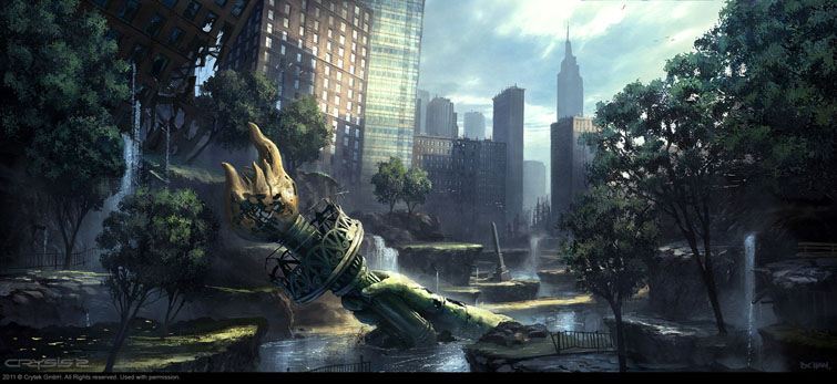 Crysis 2 Concept Art42concepts Amazing Design From