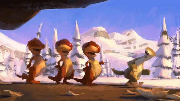 Ice Age Concept Art + Storyboard sketches42Concepts ...