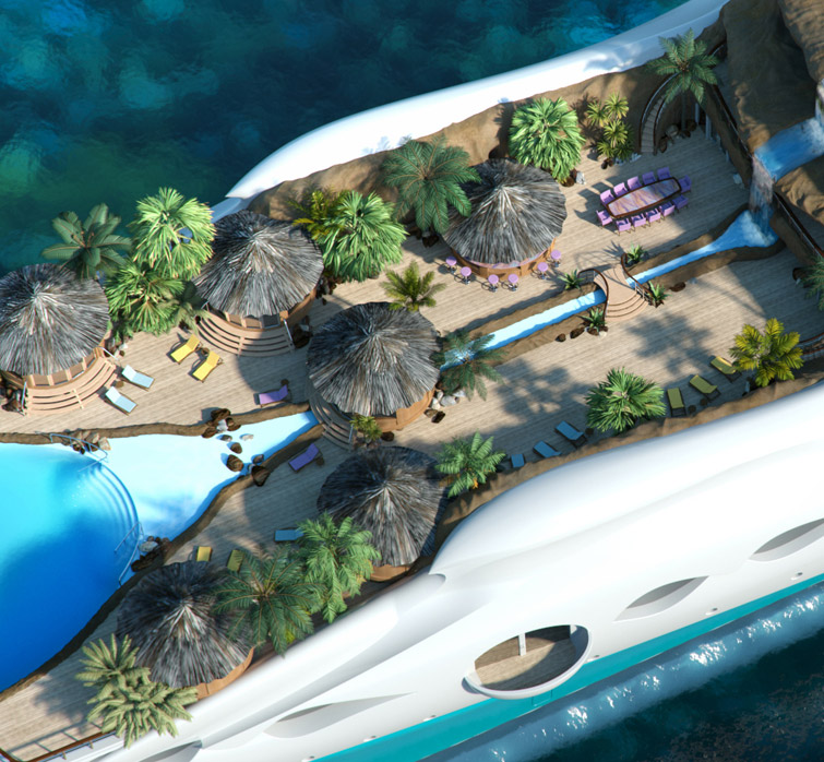 Paradise And The Floating Island42Concepts