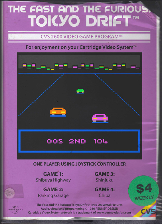 Modern Movies As 1970s Computer Games42concepts Amazing