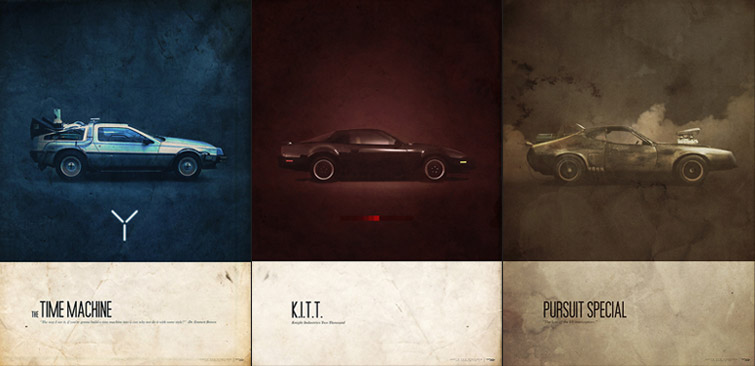 Retro Posters 2 The Special Cars42concepts Amazing