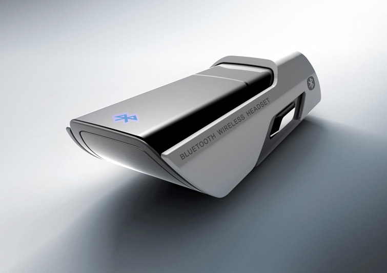 Shuttle Concept Bluetooth Headset /by @42concepts