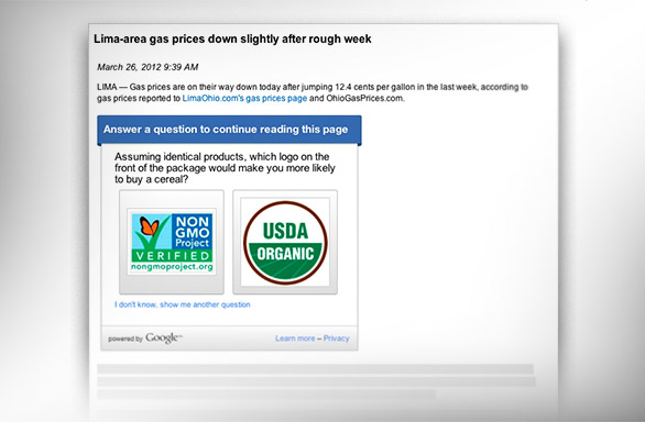 Google Consumer Surveys For Publishers    Really? - Baekdal Plus