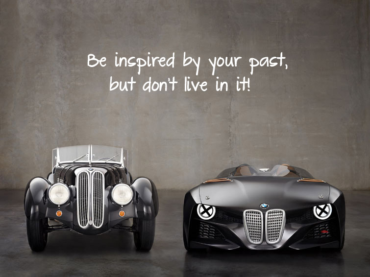 Be Inspired By Your Past But Dont Live In It Baekdal Plus