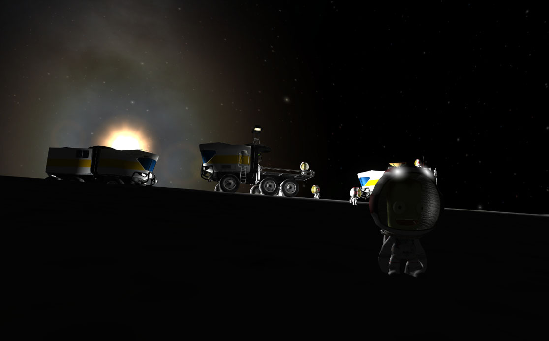 Kerbal Space Program Mun Base - Pics about space